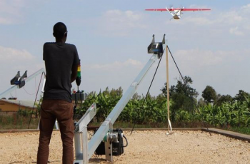 Rwanda launches world first national drone delivery service