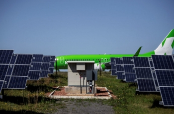 South Africa basks in continent's first solar-powered airport